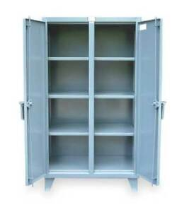 Strong Hold 45 ds 246 Storage Cabinet 12 Ga 66 In H 48 In W