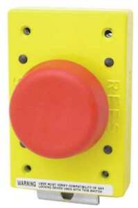 Emergency Stop Push Button red