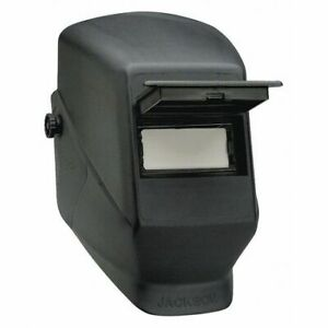 Hsl 2 Pass Welding Helmet Black 386 Cap Adapt Jackson Safety 14972