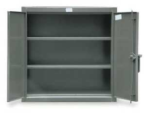 Counter Height Storage Cabinet welded Strong Hold 33 242