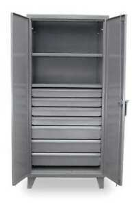 Strong Hold 36 242 7db Storage Cabinet 12 Ga 78 In H 36 In W