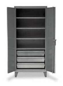 Strong Hold 36 244 3db Storage Cabinet 12 Ga 78 In H 36 In W