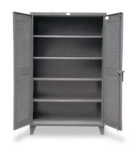 Strong Hold 46 v 244 Storage Cabinet 12 Ga 78 In H 48 In W