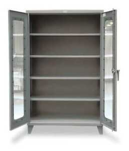 Strong Hold 46 ld 244 Storage Cabinet 12 Ga 78 In H 48 In W