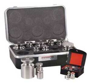 Rice Lake Weighing Systems 12615tr Calibration Weight Set 5 Lb To 1 32 Oz