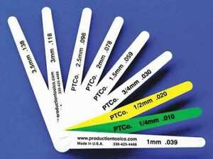 Feeler Gauge 0 59 In Thick 4 In L Blade Assembly Tool L 912