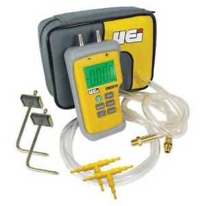 Uei Test Instruments Em201spkit n Static Pressure Test Kit digital 9v G4310428