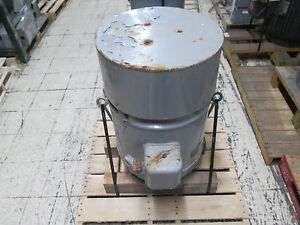 Continental Electrical Co Vertical Solid Shaft Ac Motor Snv444sc 30hp 1200rpm
