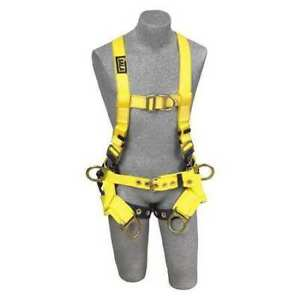 Dbi sala 1107777 Harness Tower Climbing Vest Style Front G0616275