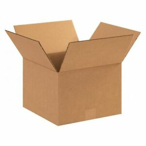 Corrugated Boxes 12 x12 x8 kraft pk25 Box Usa 12128