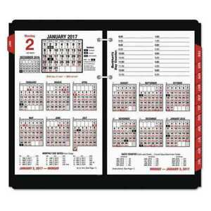 Day Counter desk Calendar Refill At a glance E712 50