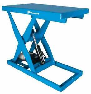 Scissor Lift Table 3000 Lb Cap 36 w 48 l Bishamon L3k 3648