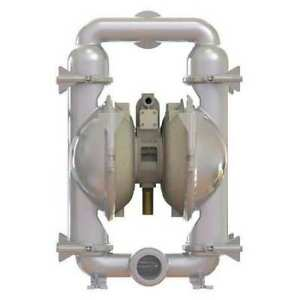 3 Stainless Steel Air Double Diaphragm Pump 180 Gpm 220f