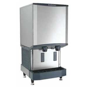 Nugget Style Ice Maker And Dispenser 40 Lb Storage Scotsman Hid540w 1
