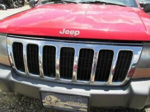 99 00 01 02 03 Jeep Grand Cherokee Chrome Grille 226683
