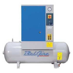 Air Compressor 7 5 Hp 60 Gal 1 phase Belaire Br75501