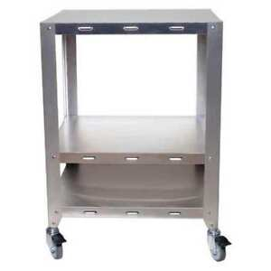 2 Oven Stand With Wheels Heavy Duty Cadco Ov hds