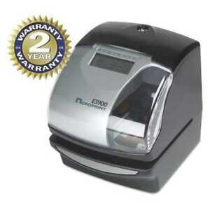 Acroprint 010209000 Time Clock And Recorder card Punch stamp