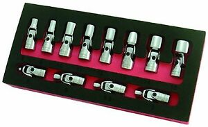 Flex Socket Set Gearwrench Swivel Socket Set Metric 1 4 Inch Drive 6 Point 12 Pc