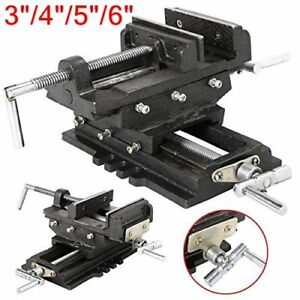 4 5 6 Cross Drill Press Vise Slide Metal Milling 2 Way X y Clamp Machine Hm