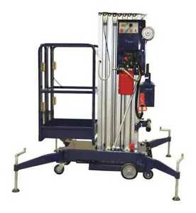 Pushable Mobile Vertical Lift 300 Lb Ballymore Bmvl 30