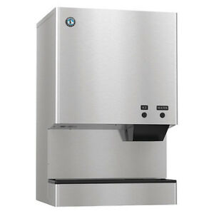 Hoshizaki Countertop Ice Maker And Dispenser 567 Lb Per Day Dcm 500bwh