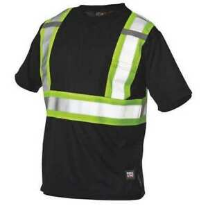 Small Hi vis T shirt Black