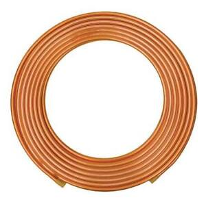 7 8 Od X 60 Ft Red Plastic Coil Copper Tubing Type K