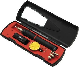Cordless Butane Soldering Hot Air Tool Iron Kit Portable Automatic Off Switch