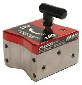 Magnetic Weld Square 4 1 4x3in 1000lb Mag mate Ws1000r