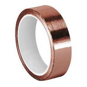 Copper Tape non conductive 9 X 6 Yd Tapecase Cfl 5ca