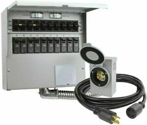 Reliance 310crk Pro Tran Ii 10 Circuit Transfer Switch Kit