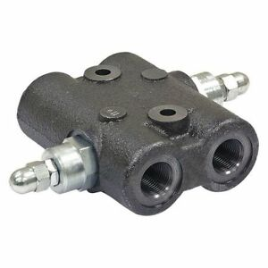 Directional Valve cross Over 2000psi Buyers Products Hcr050sae