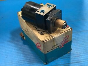 Parker Ross Mf101110aaaa Torqmotor High Torque Hydraulic Motor Refurbished h2