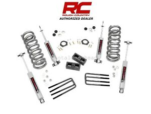 1988 1998 Chevrolet Gmc 1500 2wd 2 Rough Country Suspension Lift Kit N3 230n3