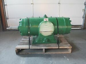 Ro Flo 12l Compressor Double Shaft Extension 8 X 6 Flanged 3 Shaft Reman