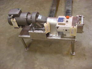 Alfa Laval Ghpd Positive Displacement Rotary Lobe Pump Sru 2
