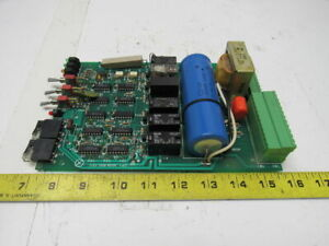 Cp1 3038 600 101 Printed Circuit Board Led Indicators On Board Switches