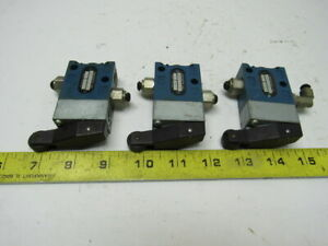 Rexroth 5630201140 Pneumatic Limit Rocker Switch Lot Of 3