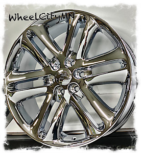 22 Inch Chrome 2013 2014 Ford F150 Oe Factory Replica Wheels Expedition 6x135 4x
