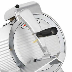 New 240w 10 Kitchen Deli Meat Slicer Electric 600rpm Cheese Food Slice Machine