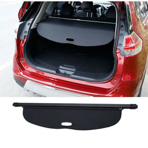 Trunk Black Rear Cargo Cover Security Shade For Nissan Rogue Sv X trail T32