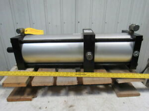 Pneumatic Air Tie Rod Cylinder 8 Bore 25 Stroke
