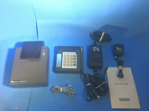 Verifone Paymentech Tranz 330 Credit Card Terminal Printer 900