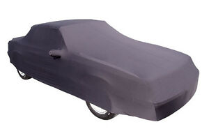 New 1986 93 Ford Mustang Convertible Indoor Car Cover Black