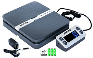 Digital Shipping Postal Scale Accuteck Shippro 110lbs X 0 1 Ounce Gray W 8580110