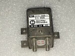 Dow key Microwave 411t 3308 1 28 Vdc Sma Female