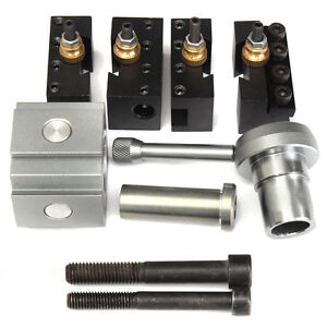 Mini Quick Change Tool Post And Tool Holder Kit Set For Cnc Table hobby Lathe