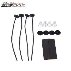1pc Electric Radiator Fan Ties Straps Mounting Kit Universal Strap Tie Fans