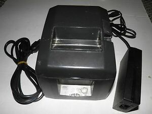 Star Tsp650 Thermal Pos Receipt Printer 654d Serial With Power Cable